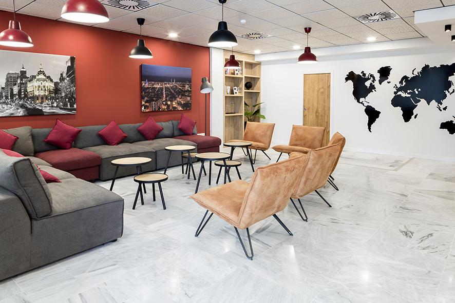 salon residencia de estudiantes odalys campus
